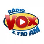 Logo da emissora Rádio Vox 1110 AM