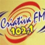 Logo da emissora Rádio Criativa 102.1 FM