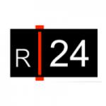 Logo da emissora Rádio 24