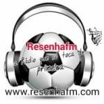 Logo da emissora Resenha FM