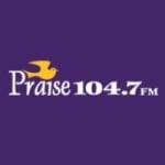 Logo da emissora WPZZ 104.7 FM