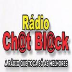 Logo da emissora Rádio Chat Black