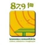 Logo da emissora Rádio Ipanema Comunitária 87.9 FM