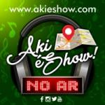 Logo da emissora Aki é Show