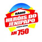 Logo da emissora Rádio Heróis do Jenipapo 750 AM