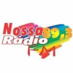 Logo da emissora Nossa Rádio 89.3 FM