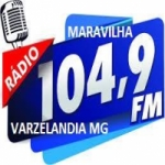Logo da emissora Rádio Maravilha 104.9 FM