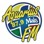 Logo da emissora Rádio Aquarius Mais 87.9 FM