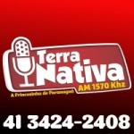 Logo da emissora Rádio Terra Nativa 1570 AM