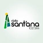 Logo da emissora Rádio Santana 102.5 FM