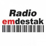 Logo da emissora Rádio Emdestak