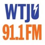 Logo da emissora WTJU 91.1 FM