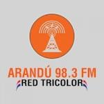 Logo da emissora Radio Arandu 98.3 FM