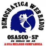Logo da emissora Democrática Web