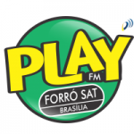 Logo da emissora Play FM Forró
