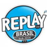 Logo da emissora Rádio Replay Brasil