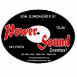 Logo da emissora Power Sound Eventos