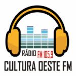Logo da emissora Rádio Cultura Oeste 105.9 FM