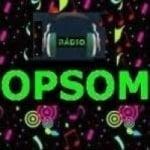 Logo da emissora Rádio Opsom