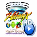 Logo da emissora Rádio Hitmix