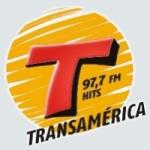 Logo da emissora Rádio Transamérica 97.7 FM