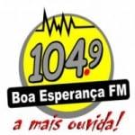Logo da emissora Rádio Boa Esperança 104.9 FM