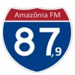 Logo da emissora Rádio Amazônia 87.9 FM