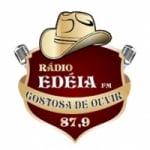 Logo da emissora Rádio Edéia 87.9 FM