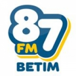 Logo da emissora Rádio 87 FM Betim