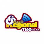 Logo da emissora Rádio Regional 1160 AM