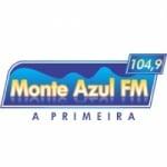 Logo da emissora Rádio Monte Azul 104.9 FM