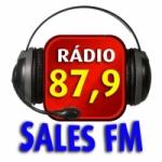 Logo da emissora Rádio Sales 87.9 FM