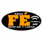 Logo da emissora Rádio Fé 1330 AM