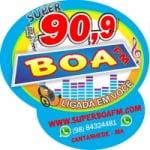 Logo da emissora Rádio Super Boa 90.9 FM