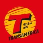 Logo da emissora Rádio Transamérica Hits 92.5 FM