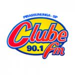 Logo da emissora Rádio Clube 90.1 FM