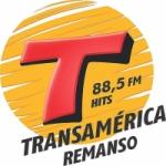 Logo da emissora Rádio Transamérica Hits 88.5 FM
