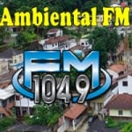 Logo da emissora Rádio Ambiental 104.9 FM