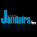 Logo da emissora Rádio Jandaíra 87.9 FM
