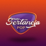 Logo da emissora Rádio Sertaneja Pop