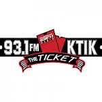 Logo da emissora Radio KTIK 93.1 FM