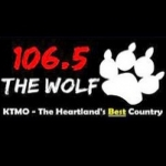 Logo da emissora KTMO 106.5 FM