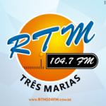 Logo da emissora Rádio Três Marias 104.7 FM