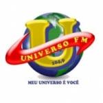 Logo da emissora Rádio Universo 104.9 FM