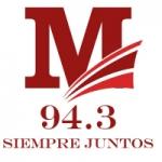 Logo da emissora Radio Milenio 94.3 FM