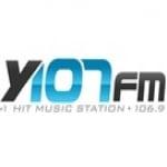 Logo da emissora KTXY 107 FM