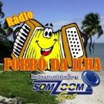 Logo da emissora Rádio Forró da Ilha