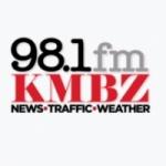 Logo da emissora KMBZ 98.1 FM