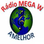 Logo da emissora Rádio Mega W