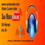 Logo da emissora Rádio Cunha Valle